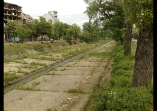 Rivers in Sofia - existing situation