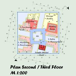 Floor plan - 2nd and 3rd floor