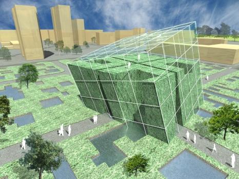 3D exterior perspective - summer