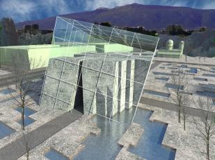 3D exterior perspective - winter