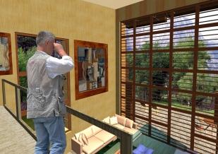 3D Interior view