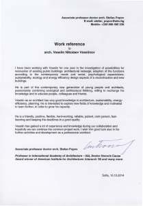 Reference_VNV_Prof. Arch. Stefan Popov