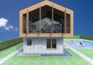 3D exterior view_West facade