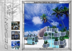 ArchCube - exterior perspective - nature - sea coast