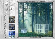 ArchCube - exterior perspective - nature - mountain