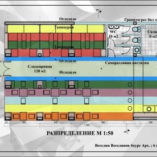 Floor plan M 1:50