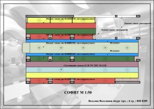 Attic plan M 1:50