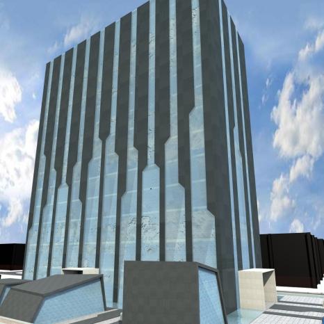 Urban Hotel / Градски хотел - Option No3 / Вариант No3
