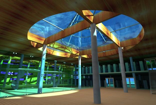 Public Library_3D Interior