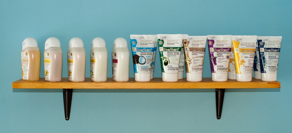 Products with sea extracts