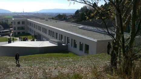 Петата фасада на училището