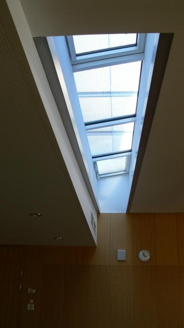 Горно осветление в залата за концертни и музикални изпълнения