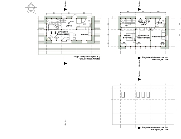 Single family house_Plan
