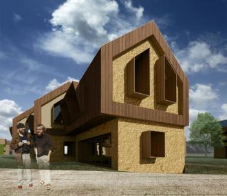 3D_Row house