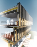 20_3D Facade section