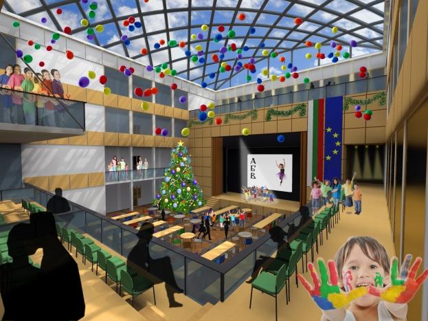 Interior view_1st floor_opened scene
