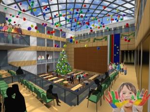 Interior view_1st floor_closed scene