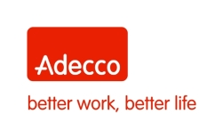 Adecco logo with goal