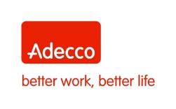Adecco logo with goal