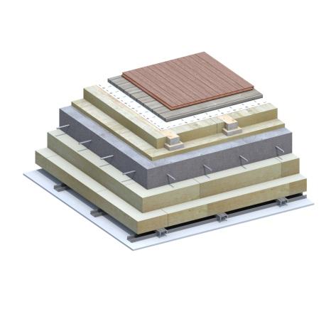 Attic Slab Passive House 3D Detail