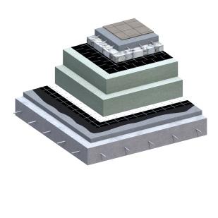 Flat Roof Passive House 3D Detail