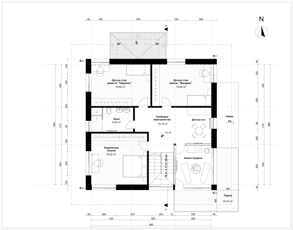 Floor Plan_First Floor_M1-50_A2