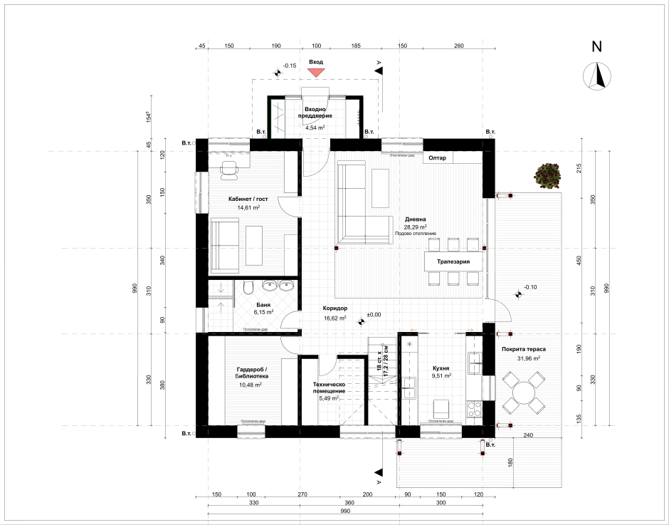 Floor Plan_Ground Floor_M1-50_A2
