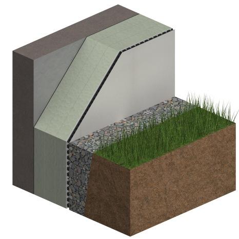 3D_BIM & More_Cellar wall_Heated cellar