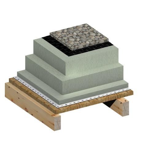 3D_BIM & More_Wood_Flat Roof