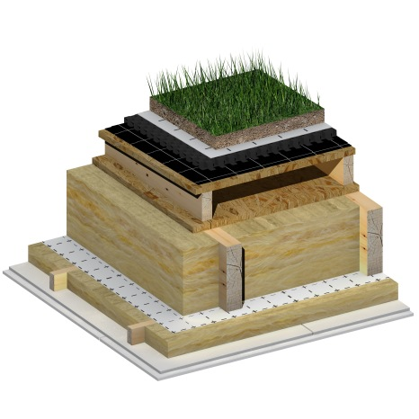 3D_BIM & More_Wood_Green Roof