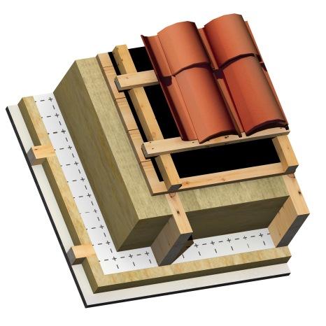 3D_BIM & More_Wood_Slopped Roof MW