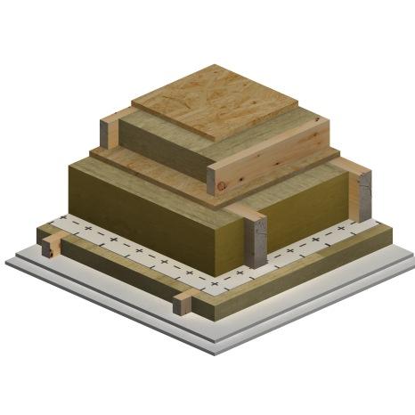 3D_BIM & More_Wood_Unheated Attic